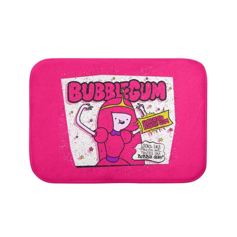 Bubble Gum, Gum! Home Bath Mat by UNDEAD MISTER