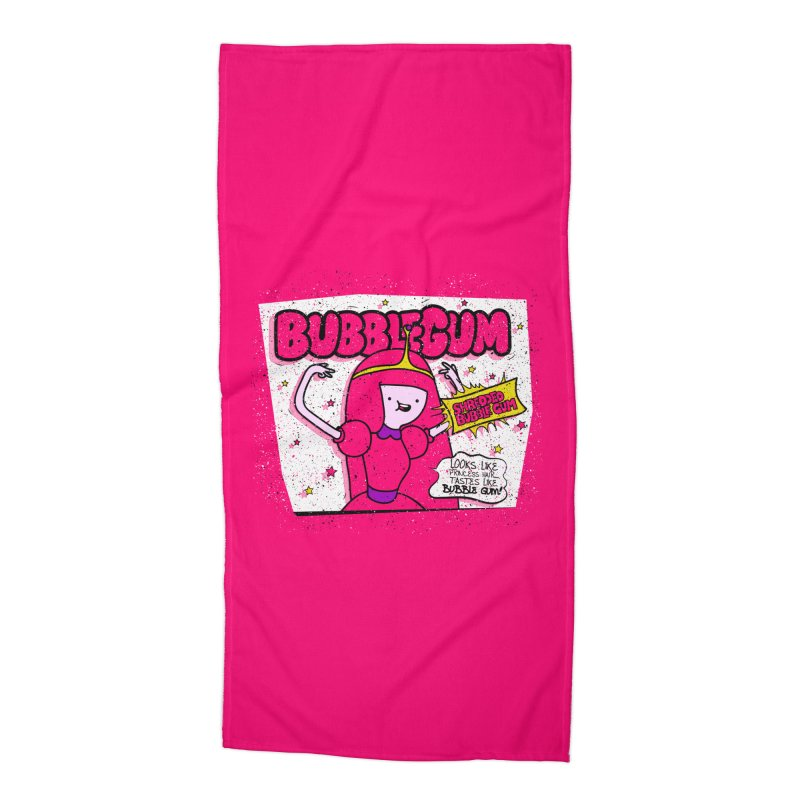 Bubble Gum, Gum! Accessories Beach Towel by UNDEAD MISTER