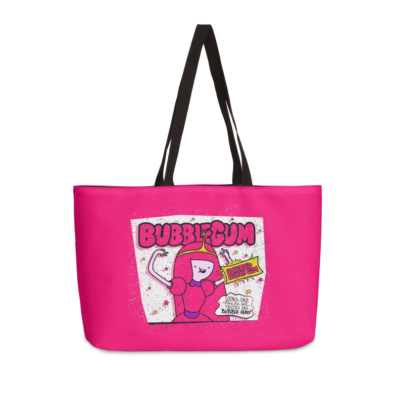 Bubble Gum, Gum! Accessories Weekender Bag Bag by UNDEAD MISTER