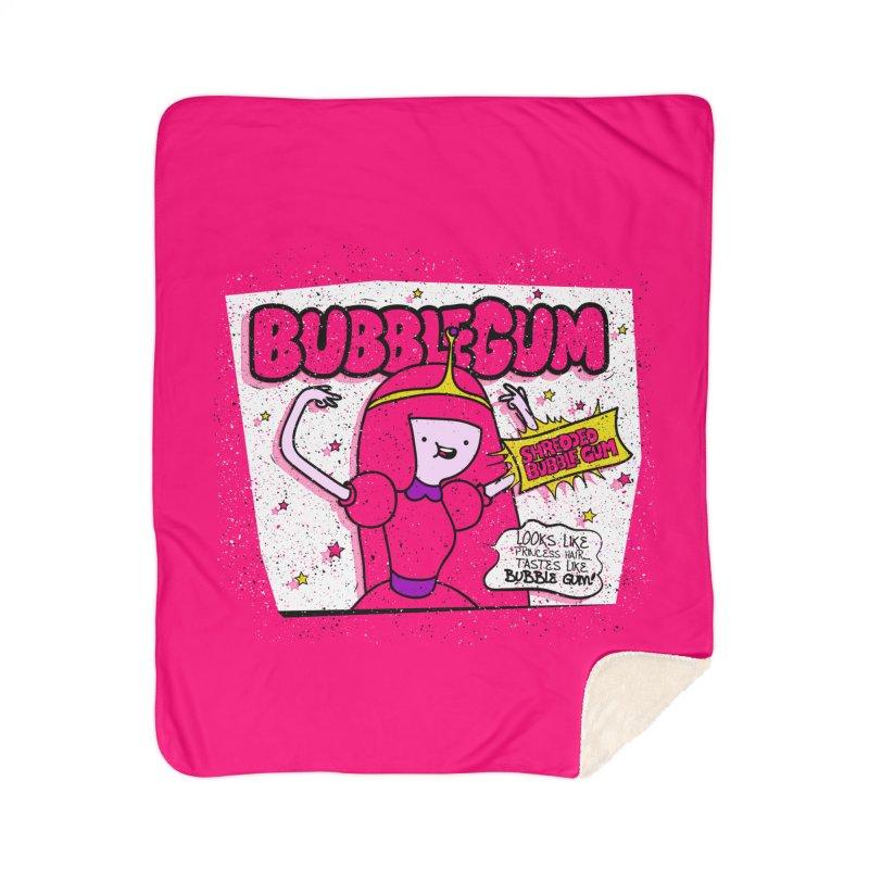 Bubble Gum, Gum! Home Blanket by UNDEAD MISTER