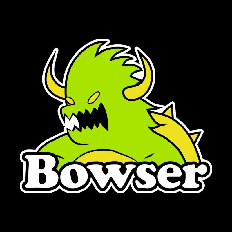 Bowser. Men's T-Shirt by UNDEAD MISTER