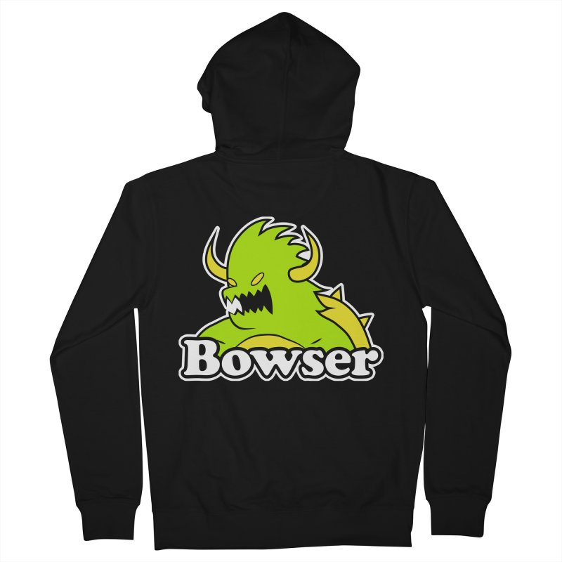 Bowser. Men's Zip-Up Hoody by UNDEAD MISTER