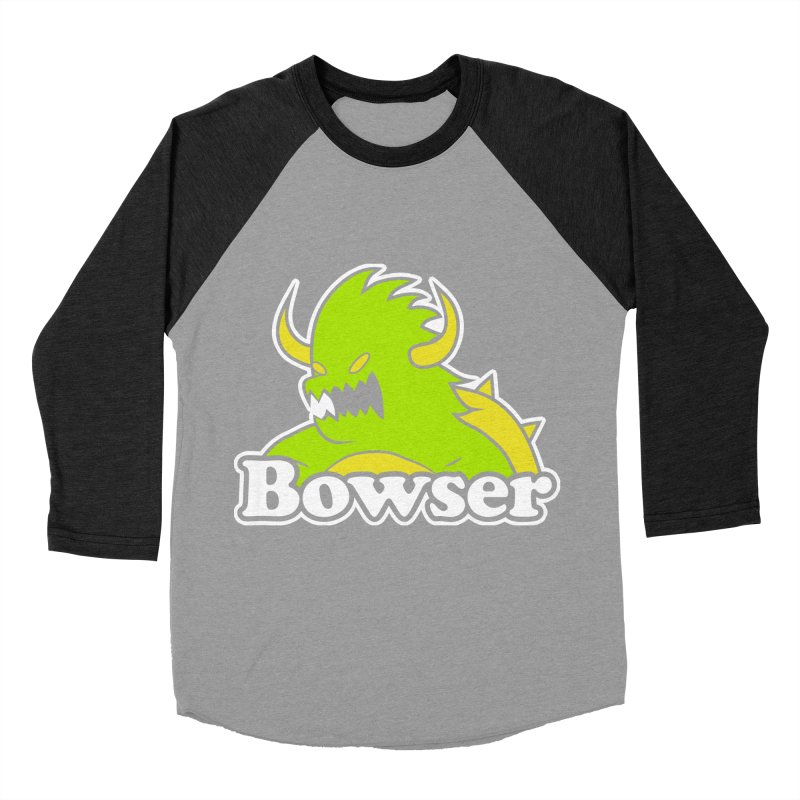Bowser. Men's Longsleeve T-Shirt by UNDEAD MISTER