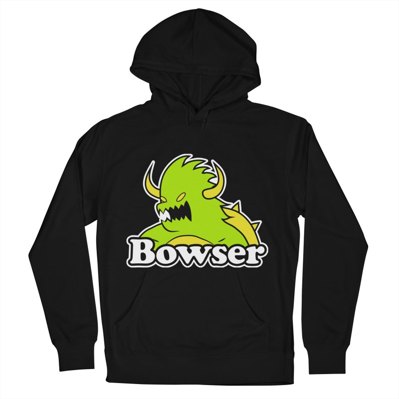 Bowser. Men's French Terry Pullover Hoody by UNDEAD MISTER