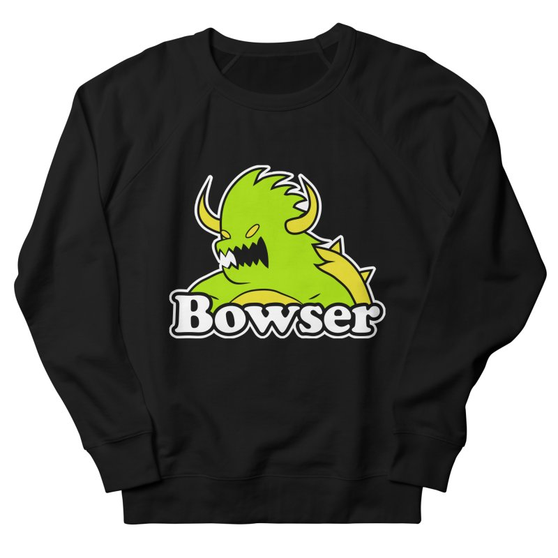 Bowser. Women's French Terry Sweatshirt by UNDEAD MISTER