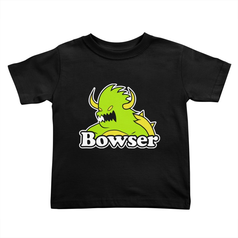 Bowser. Kids Toddler T-Shirt by UNDEAD MISTER