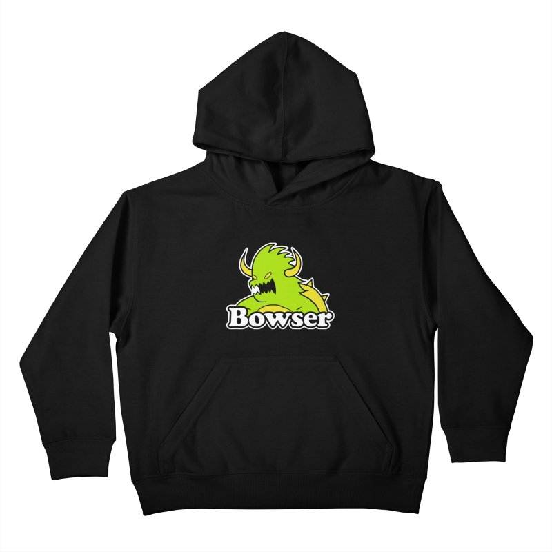 Bowser. Kids Pullover Hoody by UNDEAD MISTER