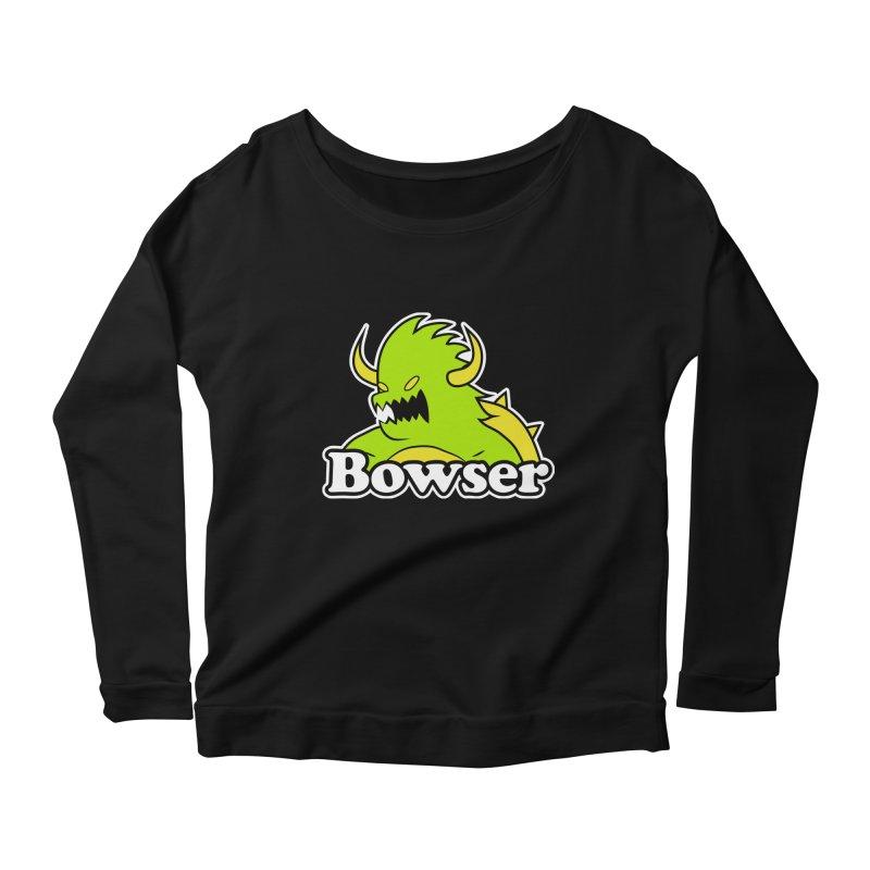 Bowser. Women's Longsleeve T-Shirt by UNDEAD MISTER