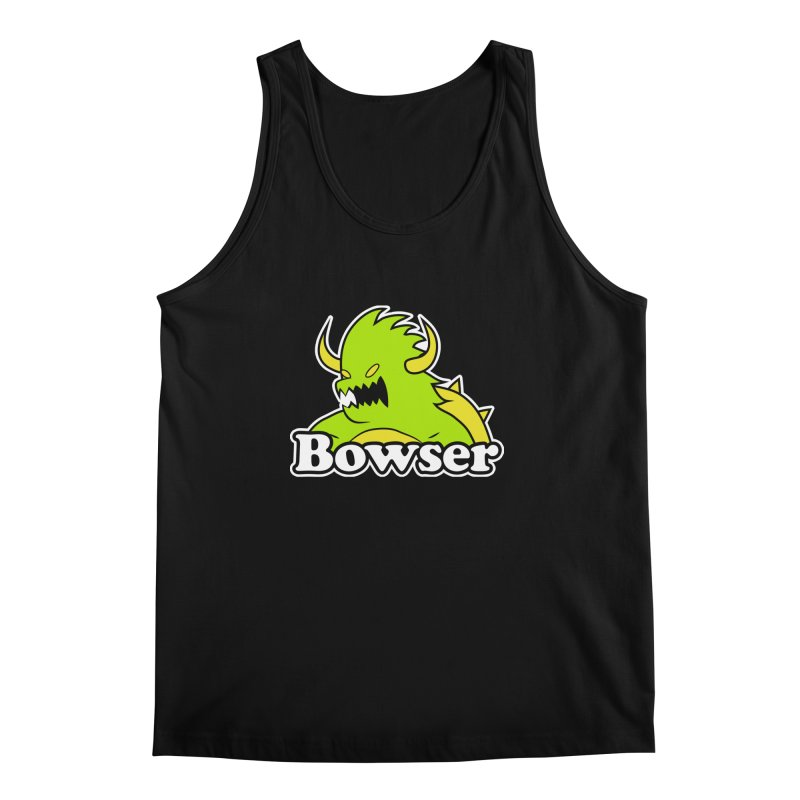 Bowser. Men's Tank by UNDEAD MISTER
