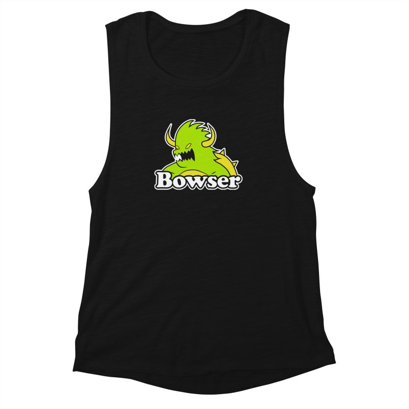 Bowser. Women's Muscle Tank by UNDEAD MISTER