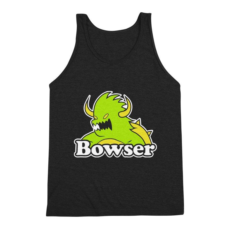 Bowser. Men's Triblend Tank by UNDEAD MISTER
