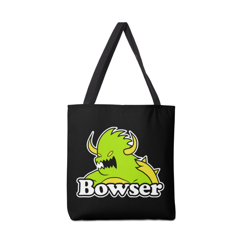 Bowser. Accessories Tote Bag Bag by UNDEAD MISTER