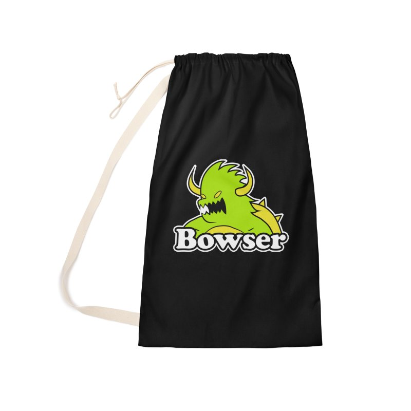 Bowser. Accessories Laundry Bag Bag by UNDEAD MISTER