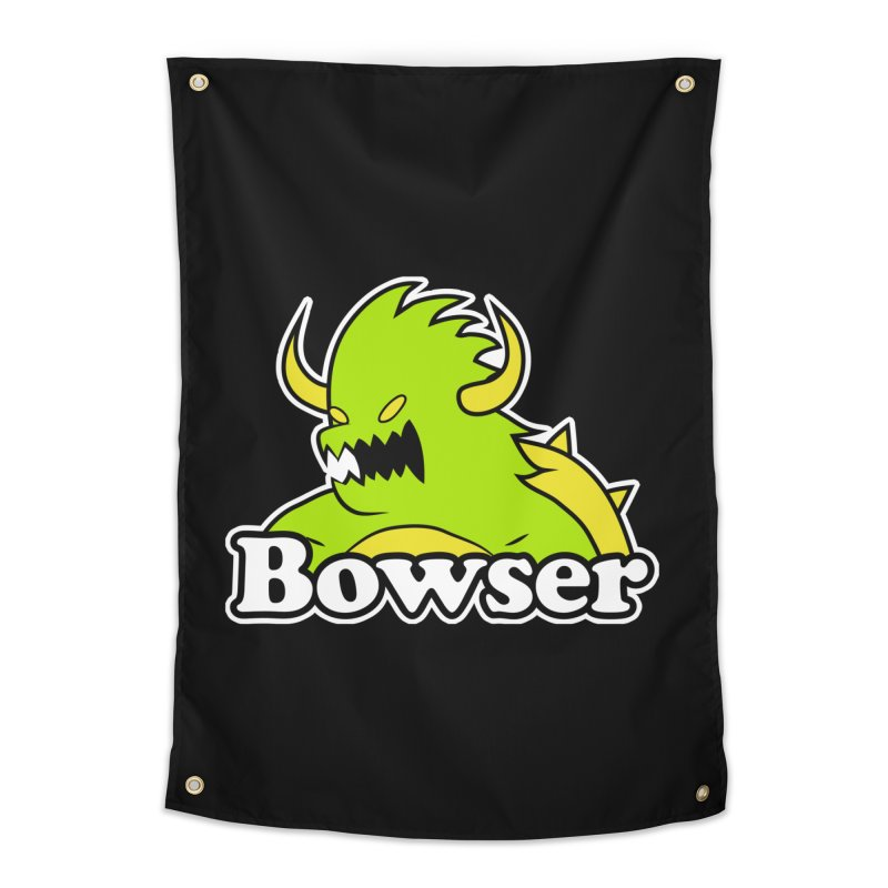 Bowser. Home Tapestry by UNDEAD MISTER