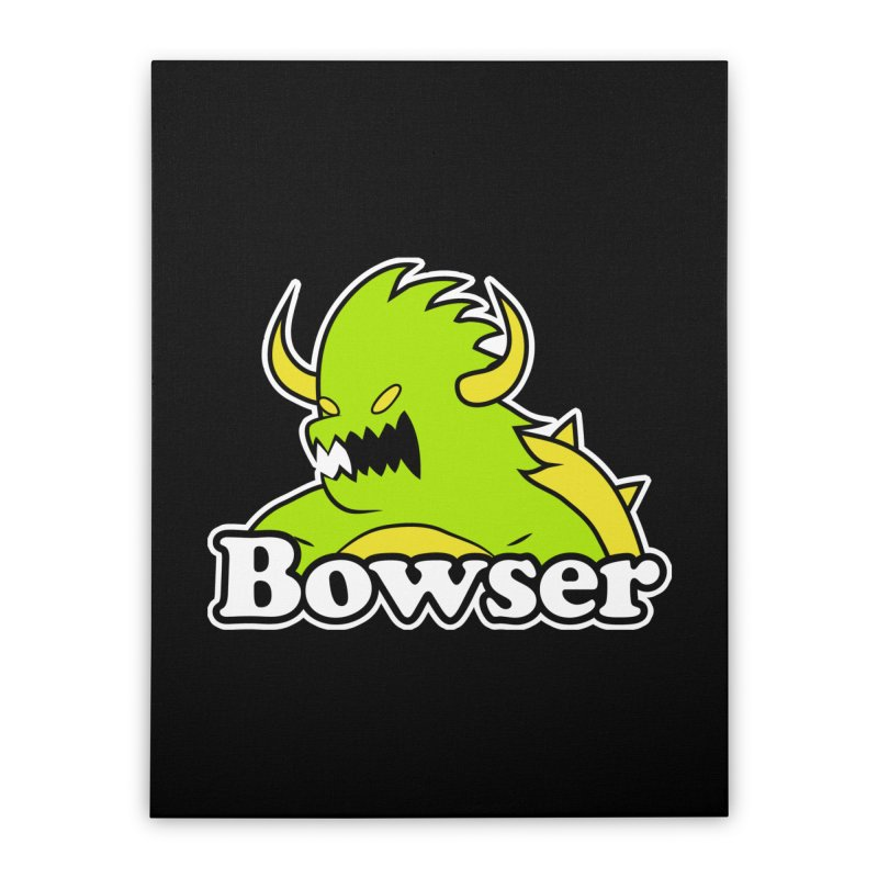 Bowser. Home Stretched Canvas by UNDEAD MISTER