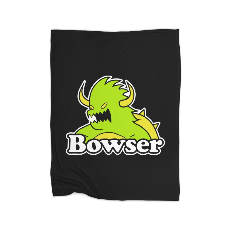 Bowser. Home Blanket by UNDEAD MISTER