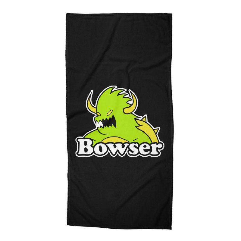 Bowser. Accessories Beach Towel by UNDEAD MISTER