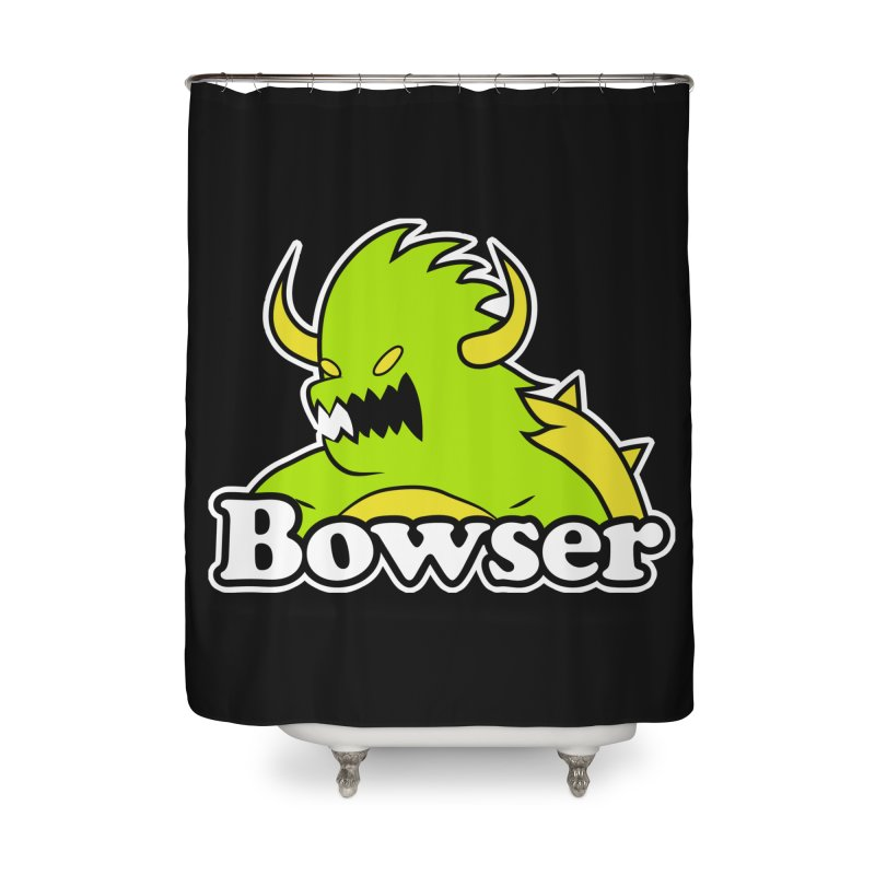Bowser. Home Shower Curtain by UNDEAD MISTER
