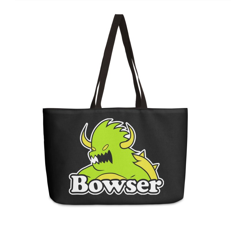 Bowser. Accessories Weekender Bag Bag by UNDEAD MISTER
