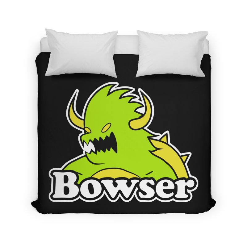 Bowser. Home Duvet by UNDEAD MISTER