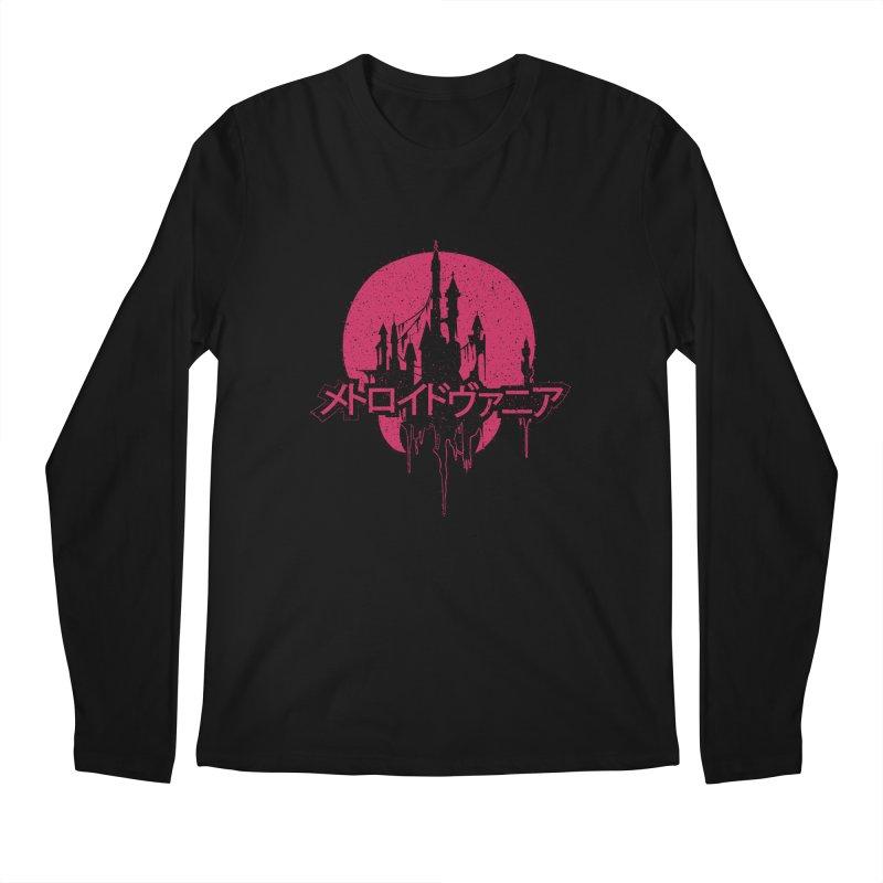 METROIDVANIA Men's Longsleeve T-Shirt by UNDEAD MISTER