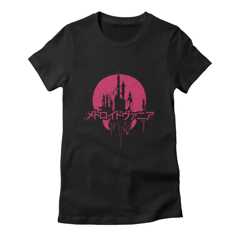METROIDVANIA Women's T-Shirt by UNDEAD MISTER