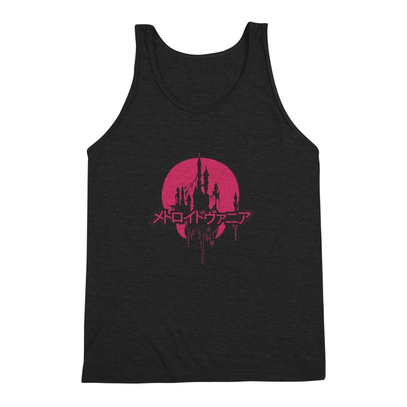 METROIDVANIA Men's Triblend Tank by UNDEAD MISTER