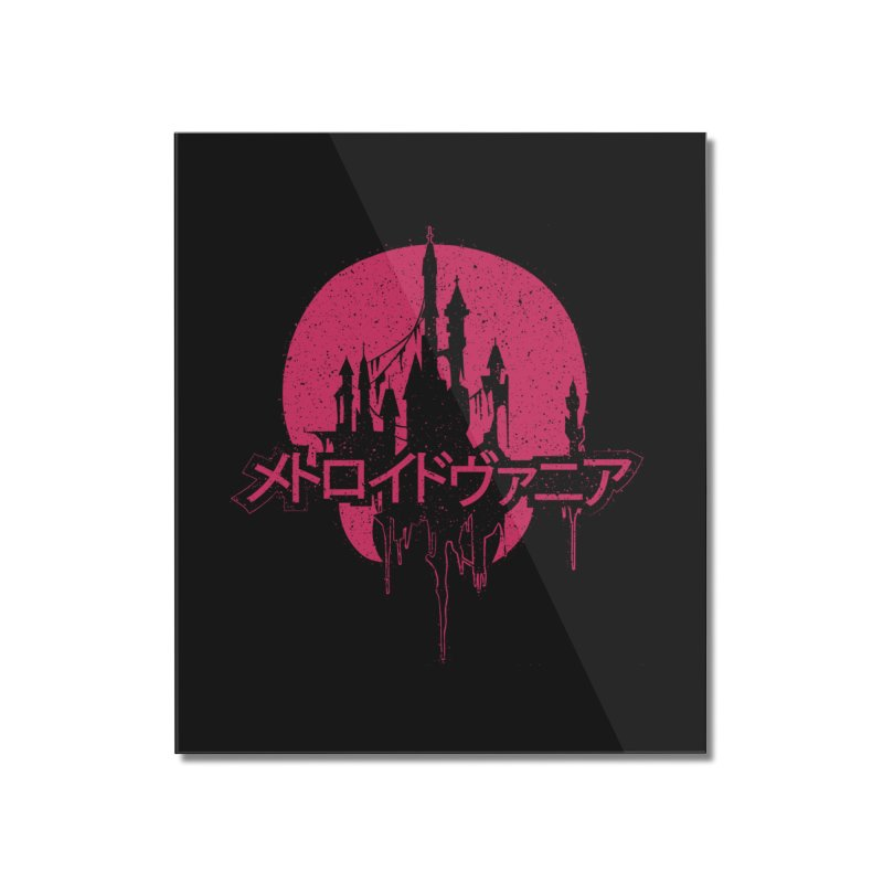 METROIDVANIA Home Mounted Acrylic Print by UNDEAD MISTER
