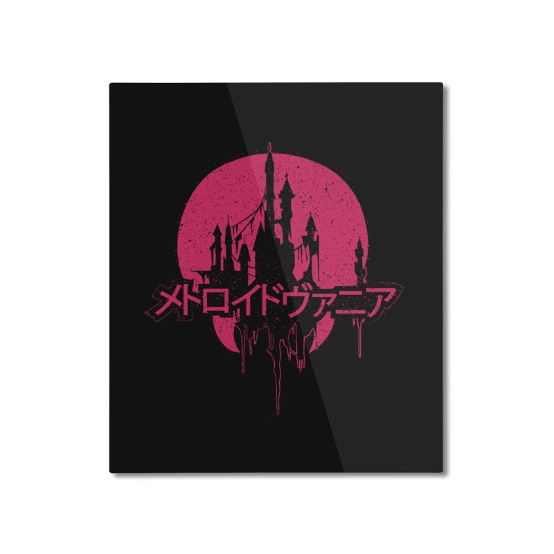 METROIDVANIA Home Mounted Aluminum Print by UNDEAD MISTER