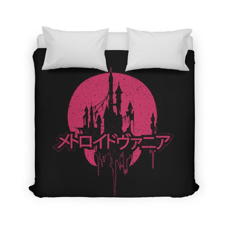 METROIDVANIA Home Duvet by UNDEAD MISTER