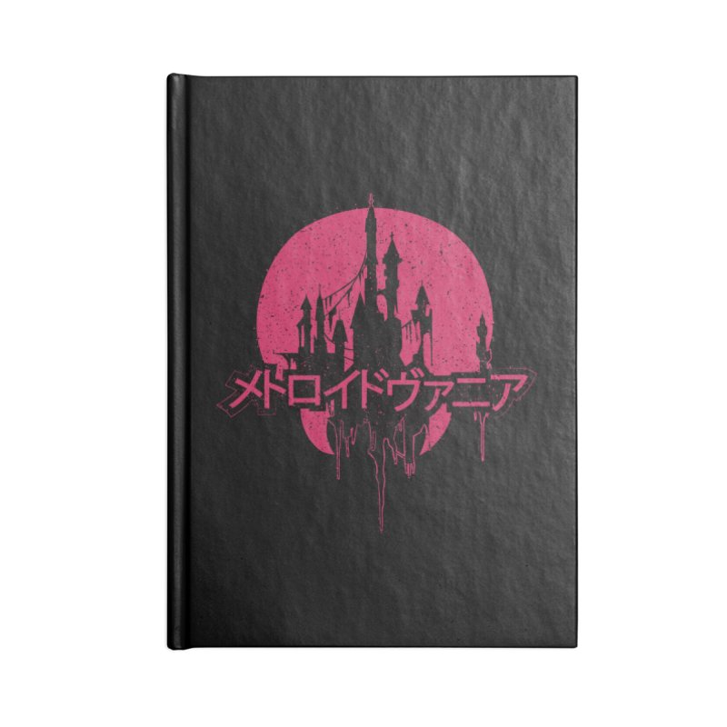 METROIDVANIA Accessories Lined Journal Notebook by UNDEAD MISTER