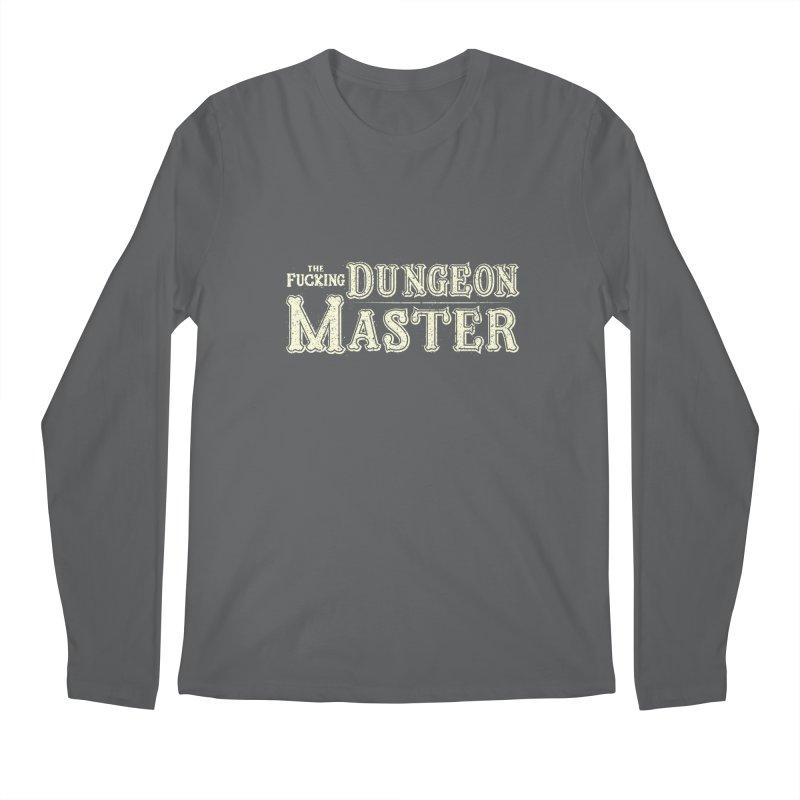 THE F* DUNGEON MASTER! Men's Regular Longsleeve T-Shirt by UNDEAD MISTER