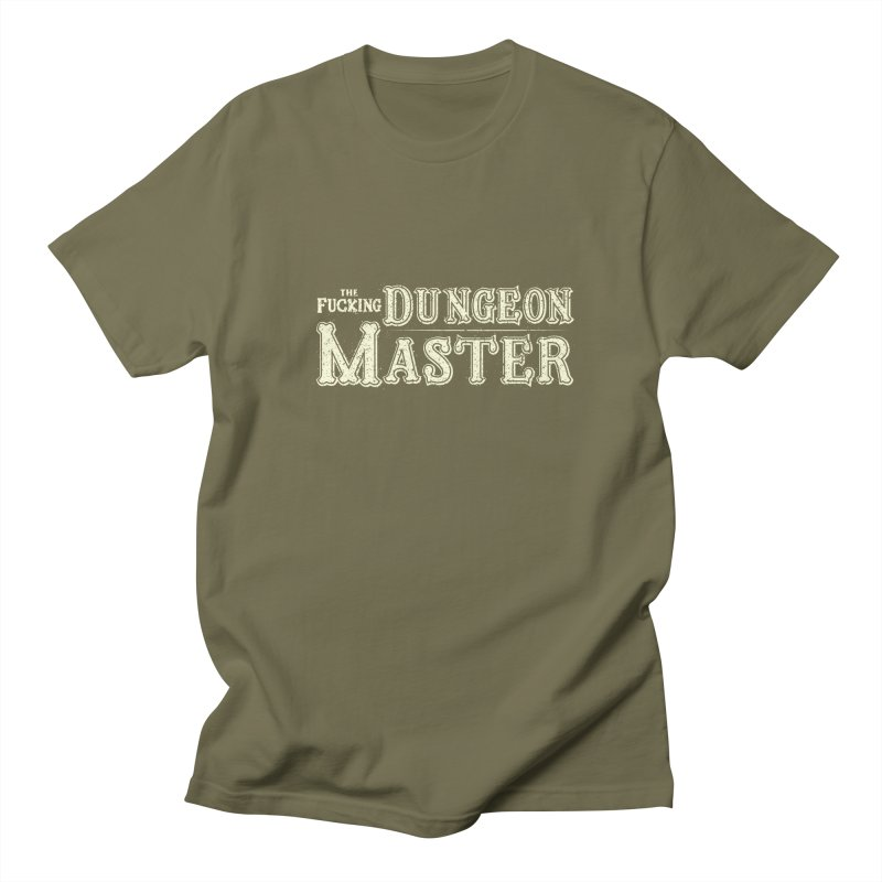 THE F* DUNGEON MASTER! Men's Regular T-Shirt by UNDEAD MISTER