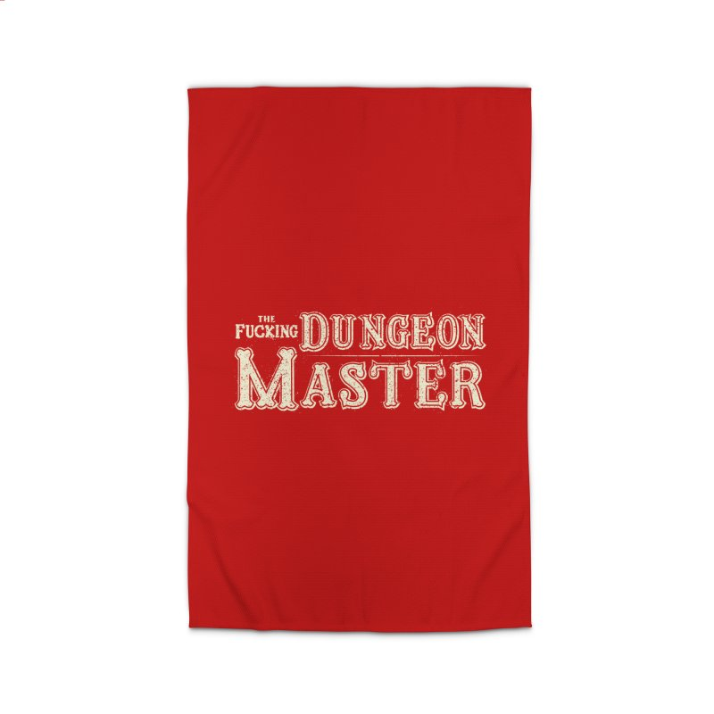 THE F* DUNGEON MASTER! Home Rug by UNDEAD MISTER