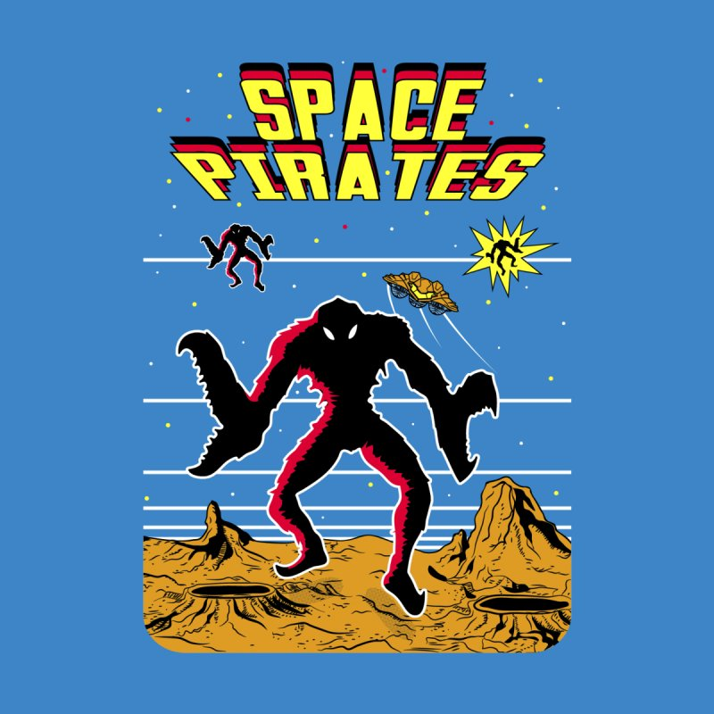 SPACE PIRATES Women's V-Neck by UNDEAD MISTER