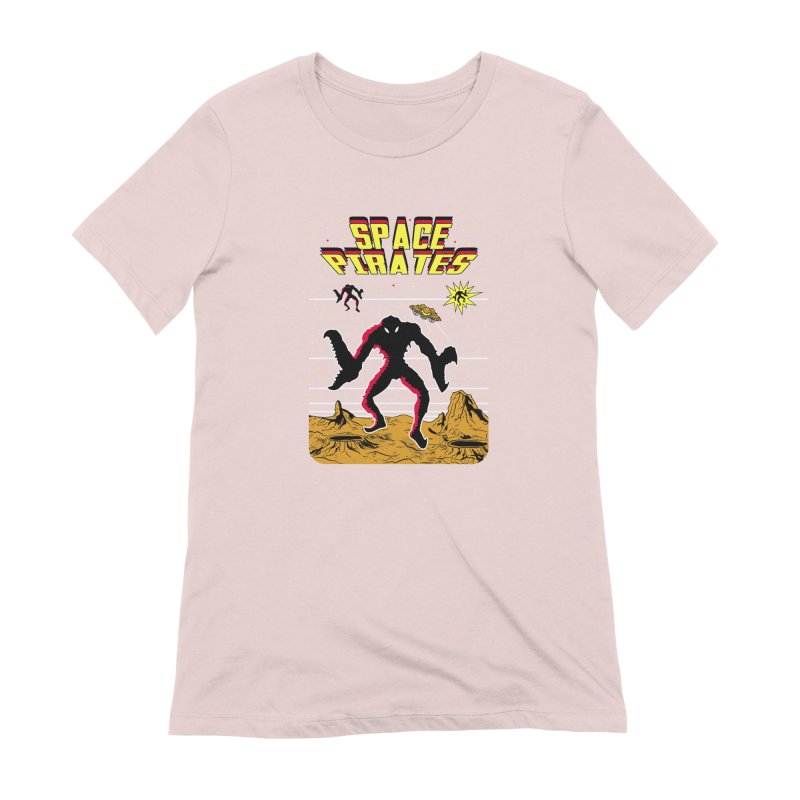 SPACE PIRATES Women's T-Shirt by UNDEAD MISTER