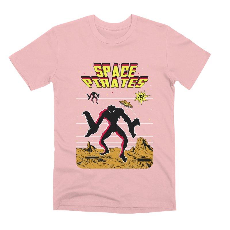 SPACE PIRATES Men's Premium T-Shirt by UNDEAD MISTER