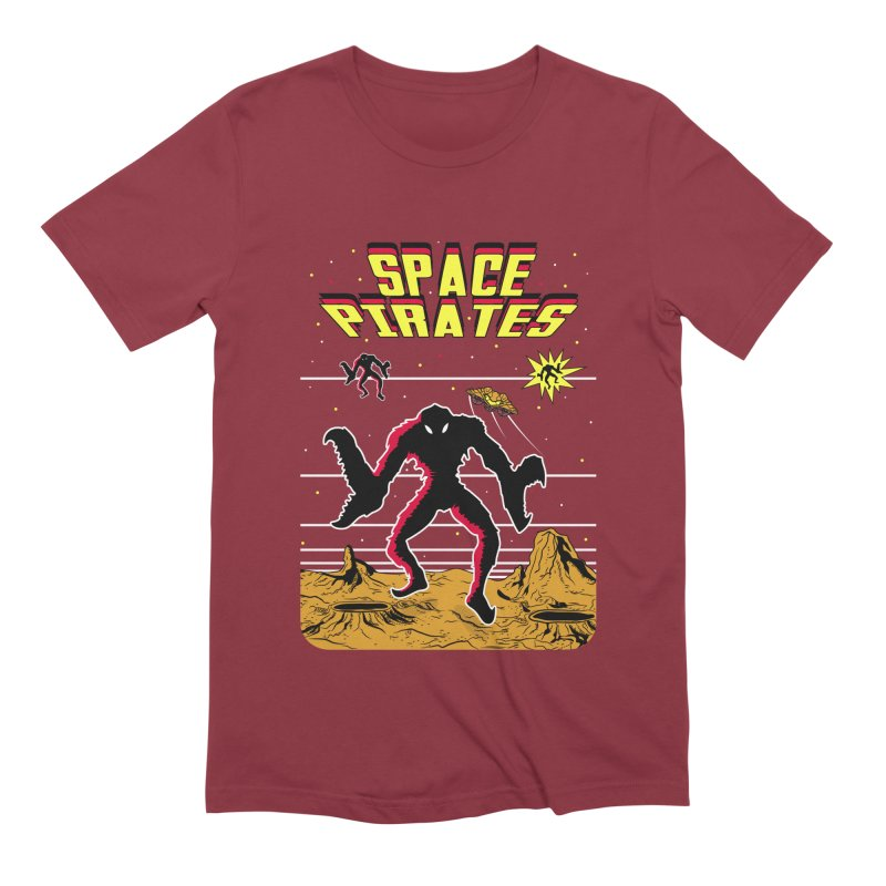 SPACE PIRATES Men's Extra Soft T-Shirt by UNDEAD MISTER