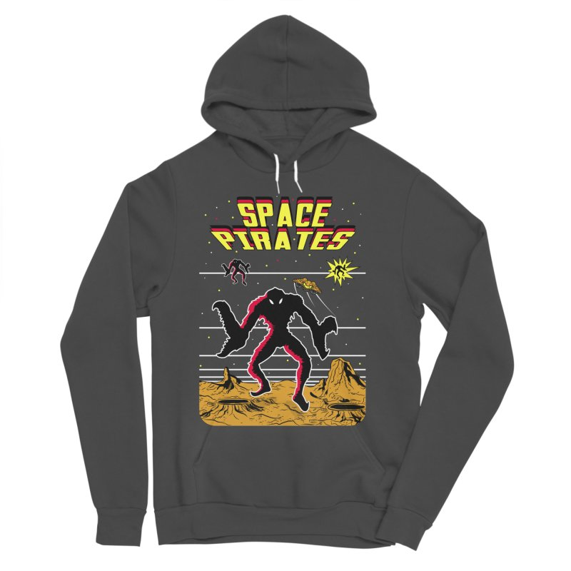 SPACE PIRATES Men's Sponge Fleece Pullover Hoody by UNDEAD MISTER