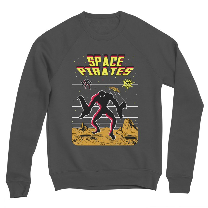 SPACE PIRATES Women's Sponge Fleece Sweatshirt by UNDEAD MISTER
