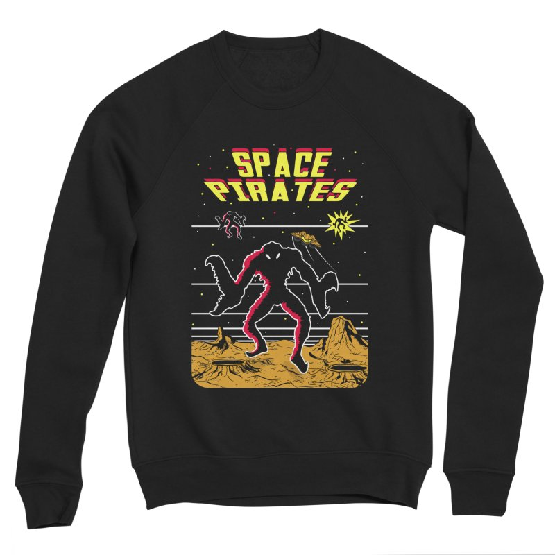 SPACE PIRATES Men's Sponge Fleece Sweatshirt by UNDEAD MISTER