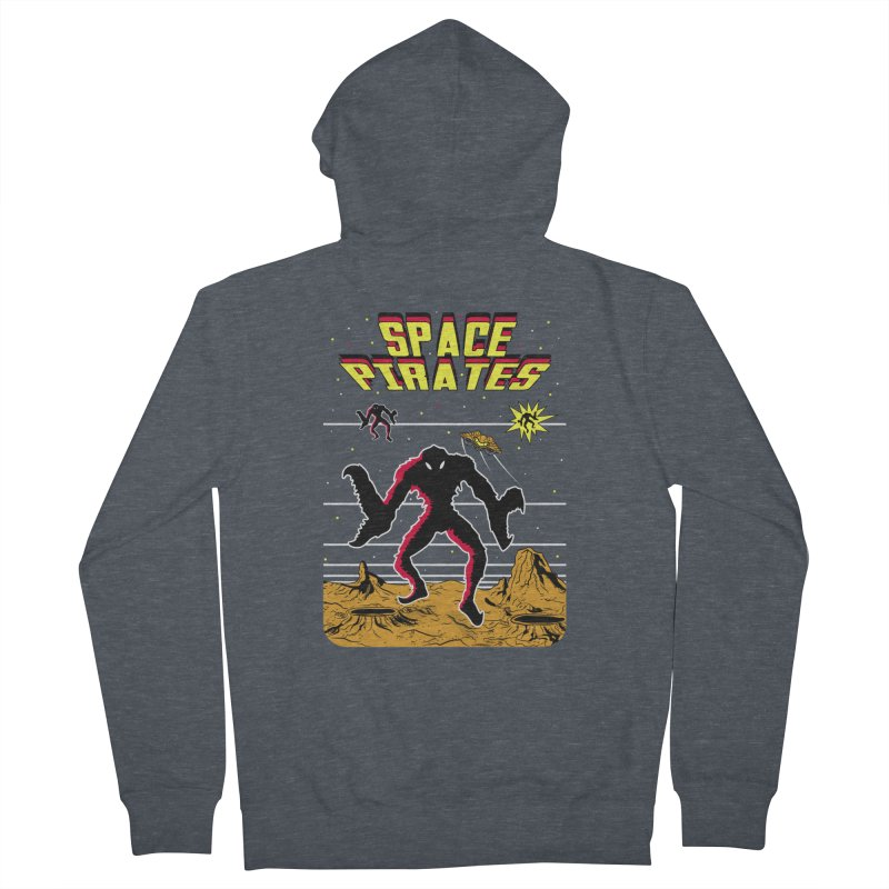 SPACE PIRATES Women's Zip-Up Hoody by UNDEAD MISTER