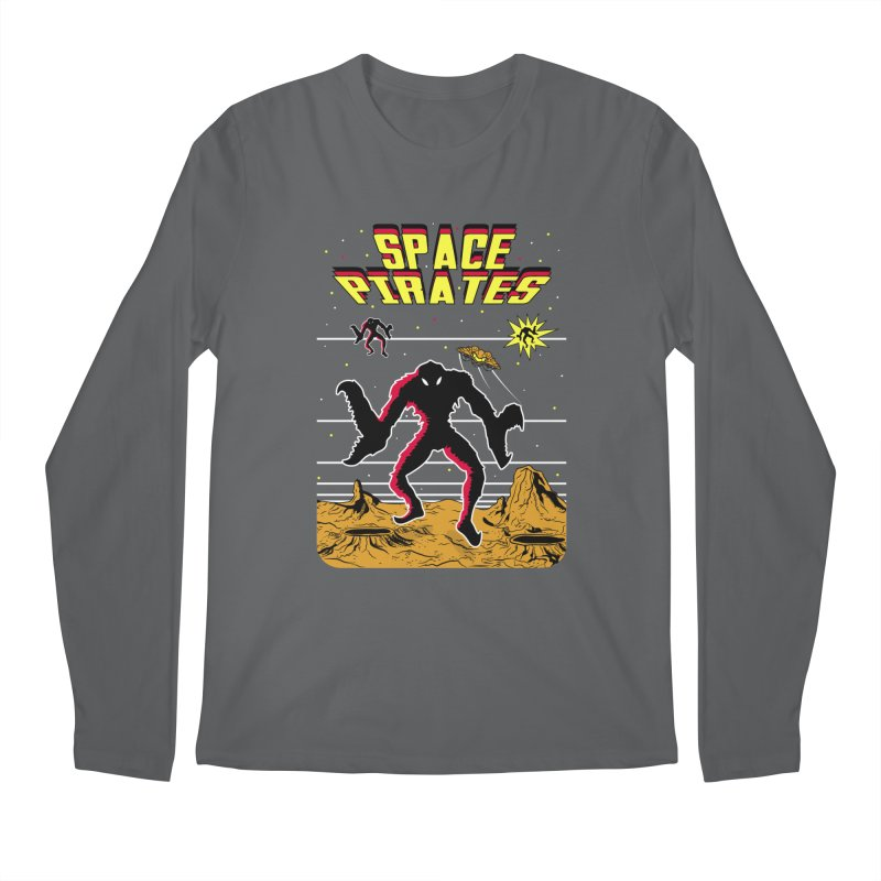 SPACE PIRATES Men's Longsleeve T-Shirt by UNDEAD MISTER