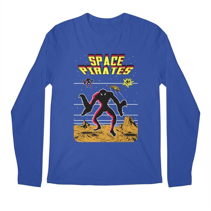 SPACE PIRATES Men's Regular Longsleeve T-Shirt by UNDEAD MISTER