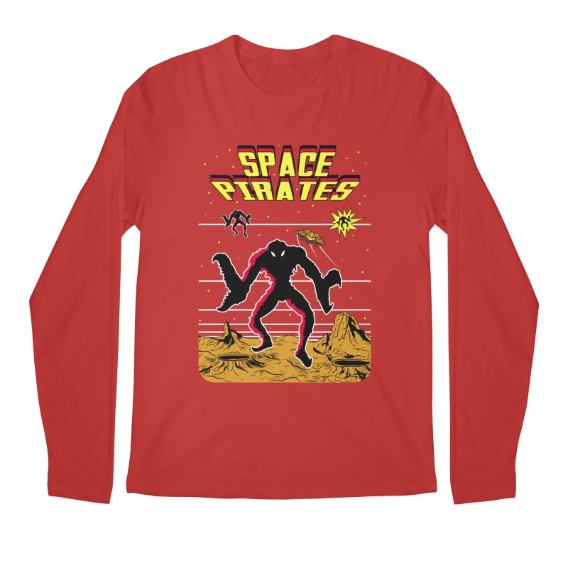 SPACE PIRATES Men's Regular Longsleeve T-Shirt by UNDEAD MISTER