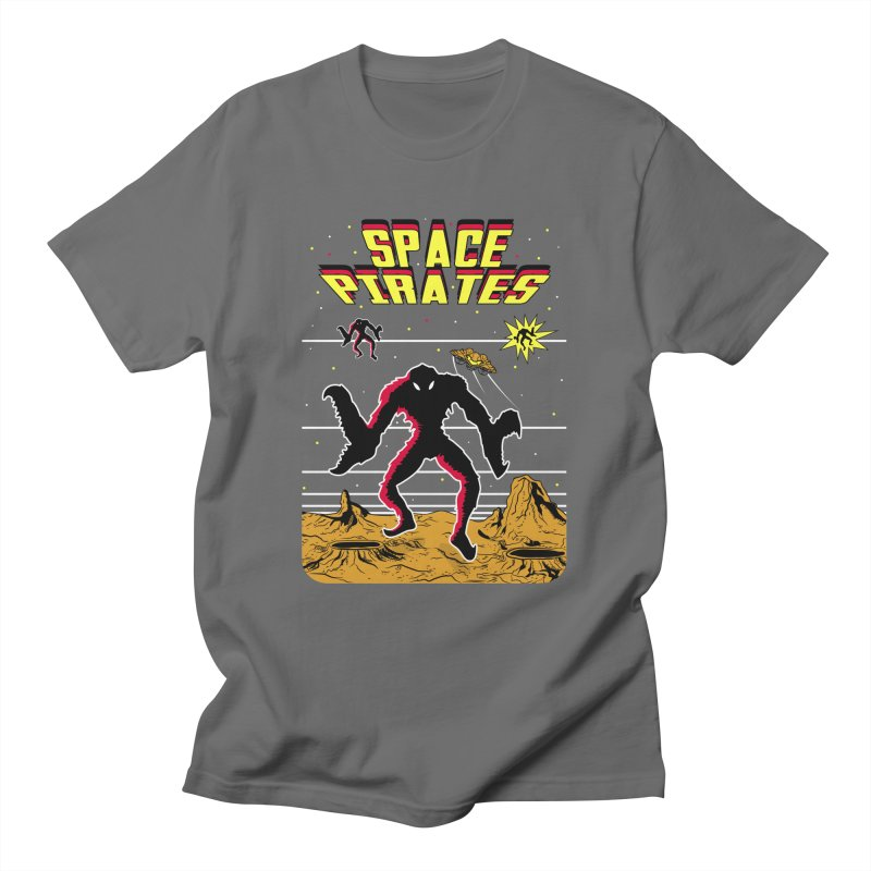 SPACE PIRATES Men's T-Shirt by UNDEAD MISTER