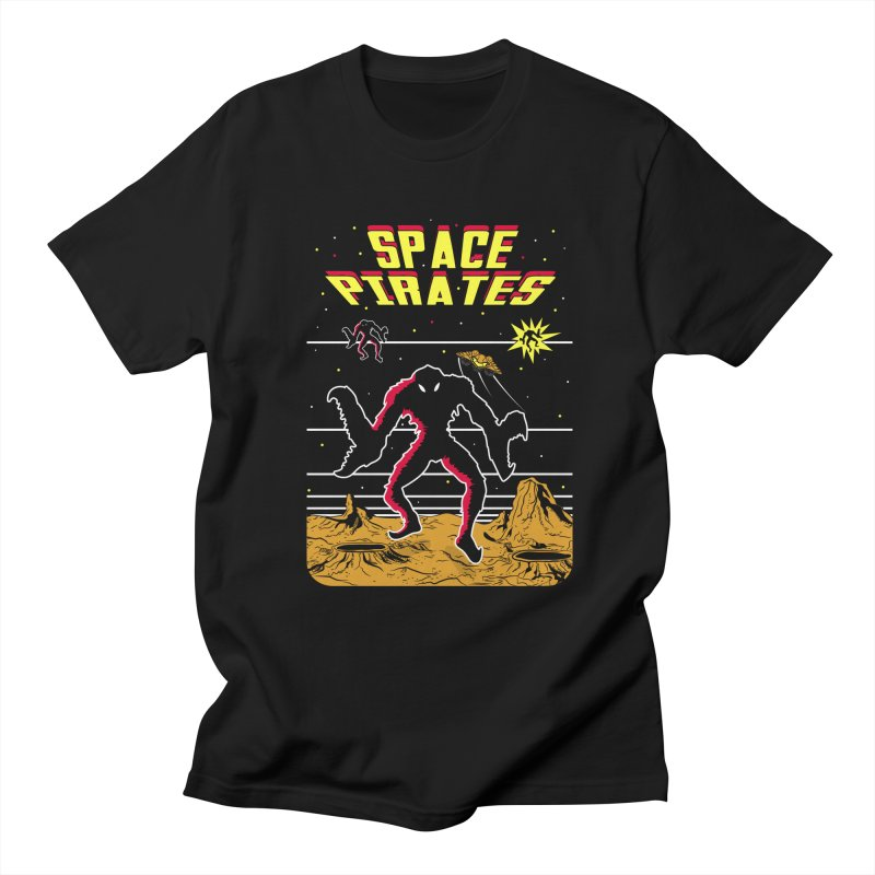 SPACE PIRATES Women's Regular Unisex T-Shirt by UNDEAD MISTER