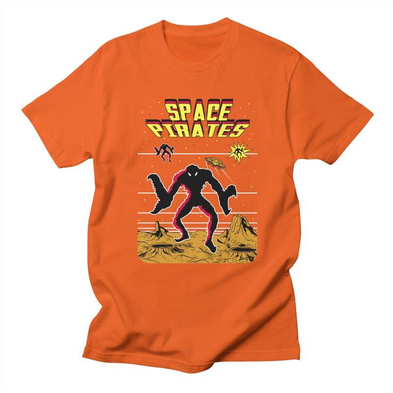 SPACE PIRATES Women's Regular Unisex T-Shirt by UNDEAD MISTER