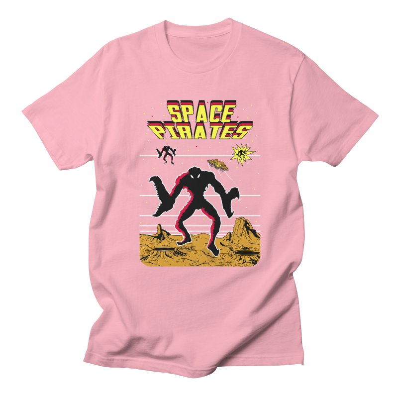 SPACE PIRATES Men's Regular T-Shirt by UNDEAD MISTER