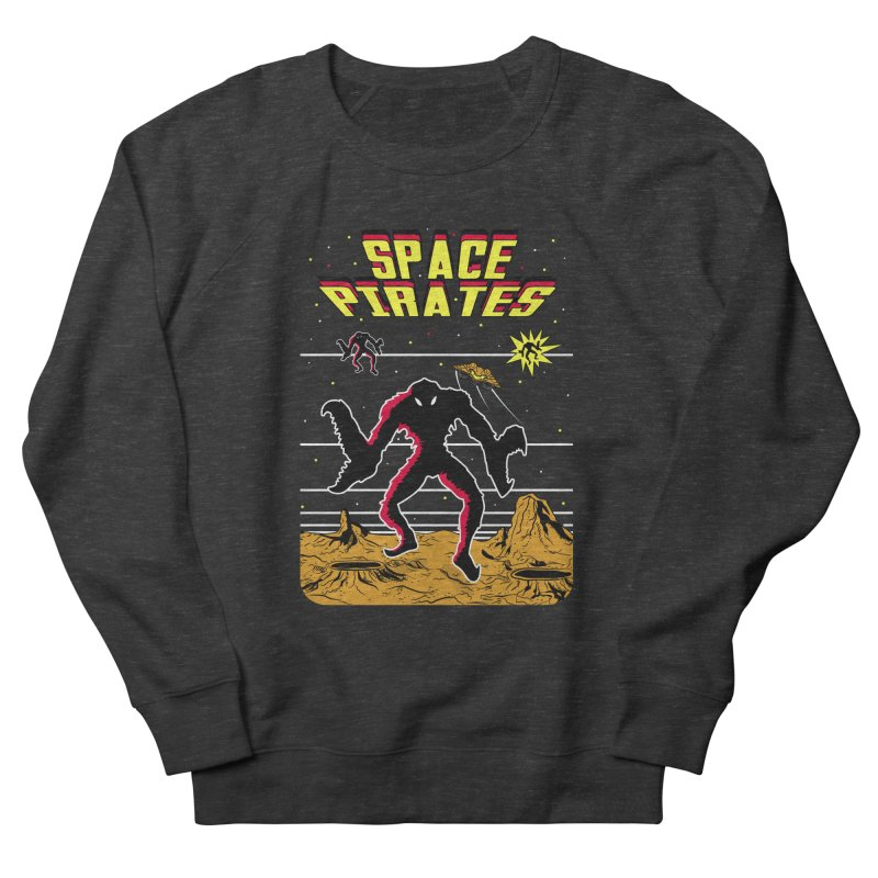SPACE PIRATES Women's French Terry Sweatshirt by UNDEAD MISTER